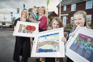 They all won £200 for their schools and the pictures will be on display in the showrooms